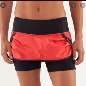Lululemon Run Speed Squad Skirt Size 8